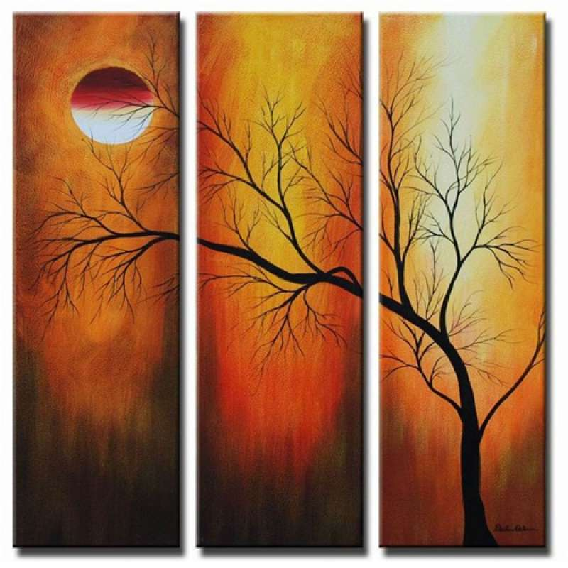 Eclipse Canvas Art