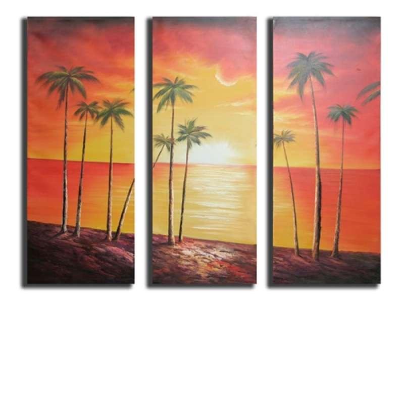 Coconut Grove Canvas Art