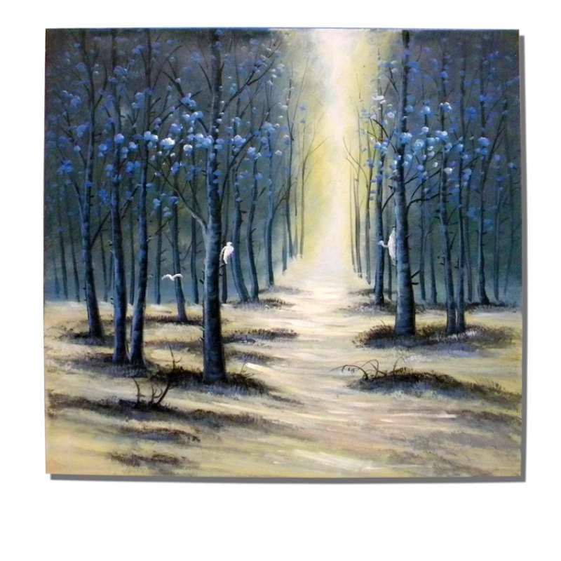 White as Snow Canvas Art