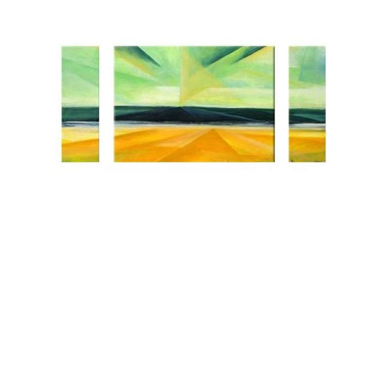 Fractal Horizon Canvas Art