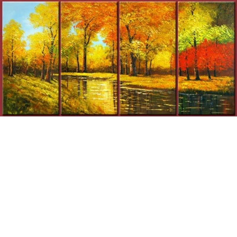 Autumnal Shades Canvas Art