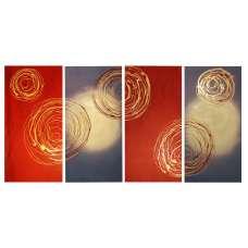 Unite the Swirls Canvas Art