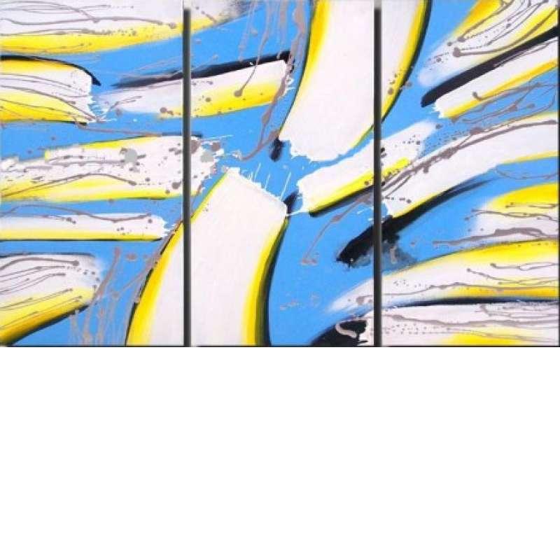 Splintered Shards Canvas Art