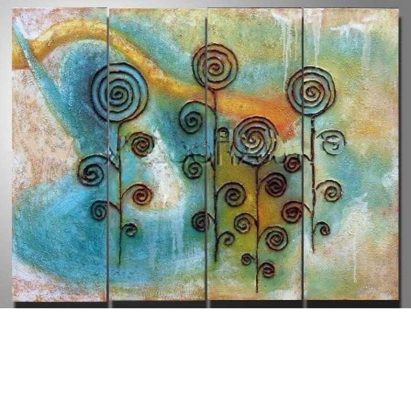 Lollypop Trees Canvas Art
