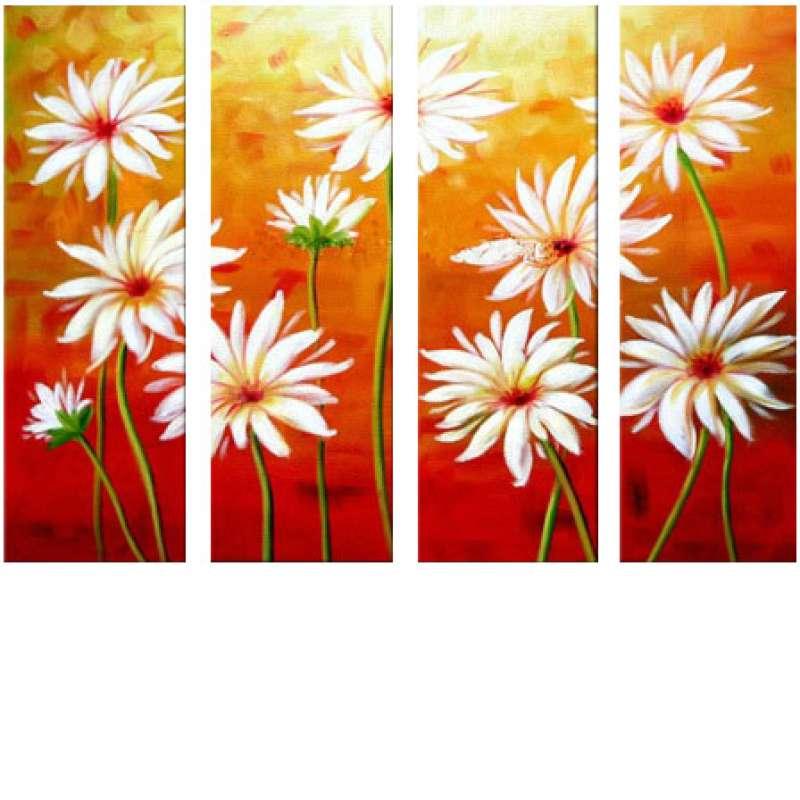 Virtue of the Daisy Canvas Art