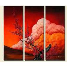 Signs of Spring Canvas Art