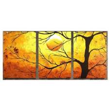 Tree Silhouette Canvas Art