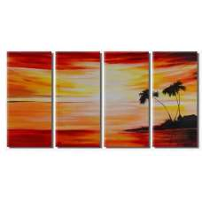 Tropic Serenity Canvas Art