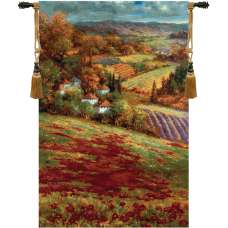 Valley View III Fine Art Tapestry