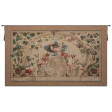 Beauvais Green Leaves French Tapestry