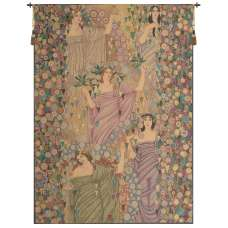 Primavera Vertical Italian Tapestry Wall Hanging