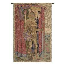 Armored Knight Italian Tapestry Wall Hanging