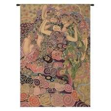 The Virgin Italian Tapestry Wall Hanging
