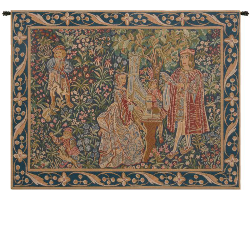 Dame A Lorgue French Tapestry