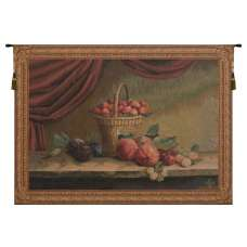 Basket of Strawberries  French Tapestry