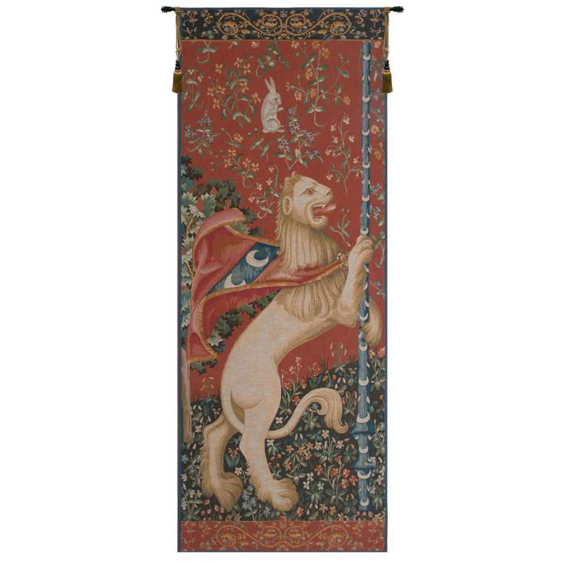 Portiere Lion  French Tapestry