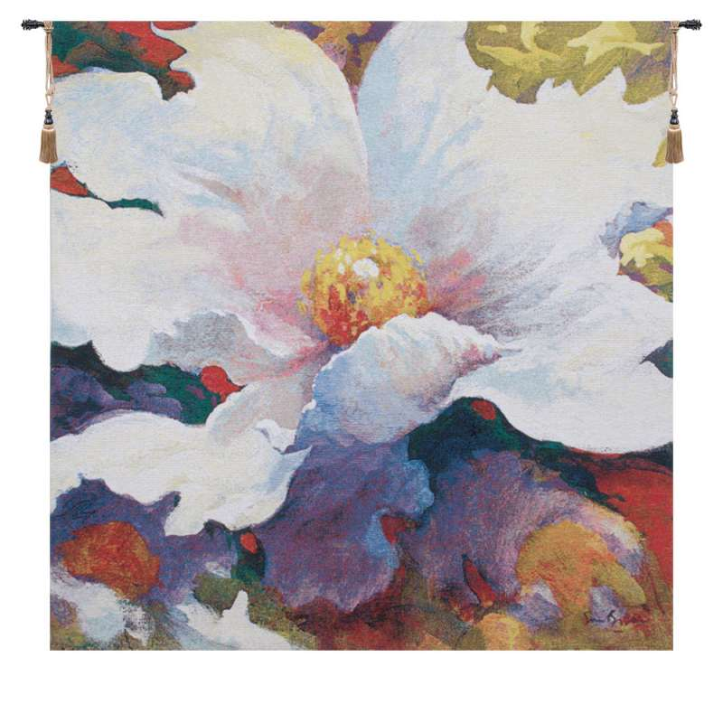 Because of You by Simon Bull Belgian Tapestry Wall Hanging
