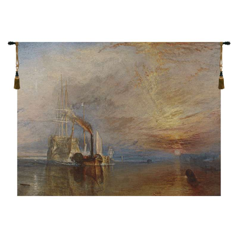 The Fighting Temeraire Belgian Tapestry Wall Hanging