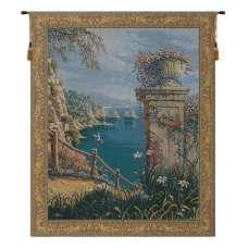 Capri Vista Belgian Tapestry Wall Hanging