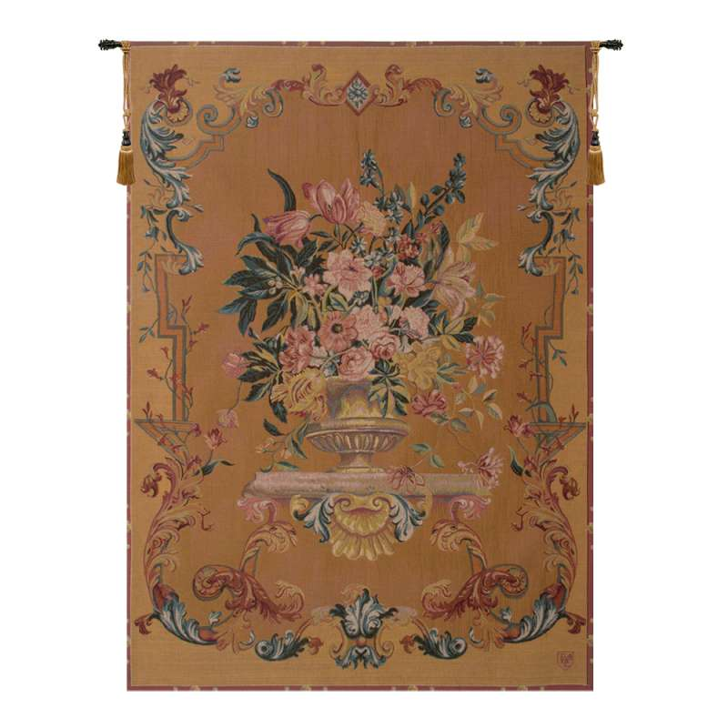 Bouquet XVIII English Bouquet French Tapestry Wall Hanging