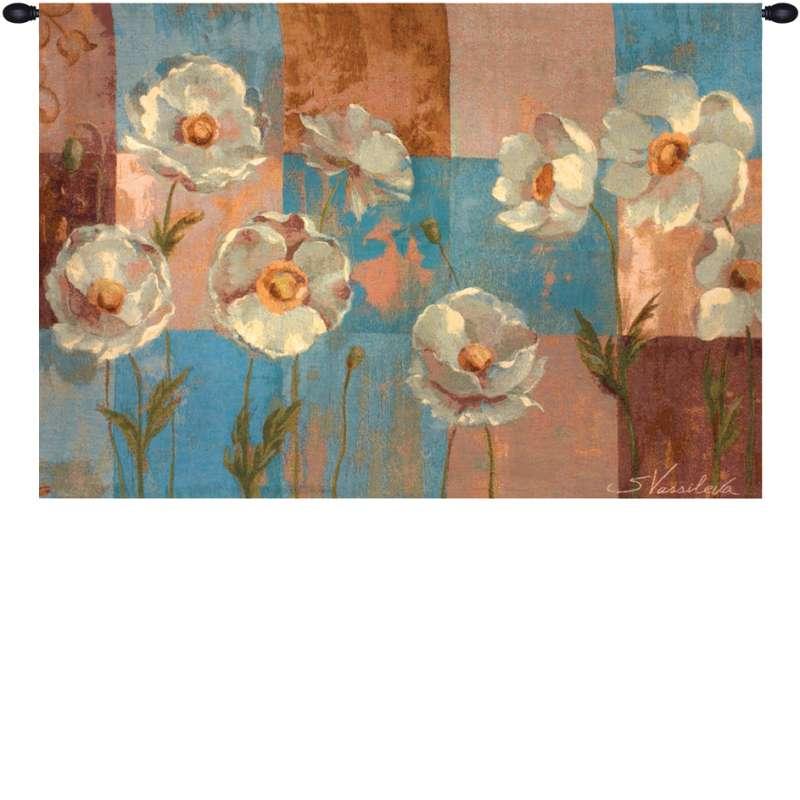 Whispering Flowers Fine Art Tapestry