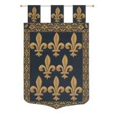 Fleur De Lys With Loops European Tapestry