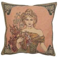 Mucha Spring I European Cushion Cover
