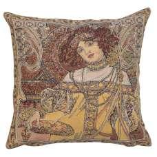 Mucha Autumn I European Cushion Cover