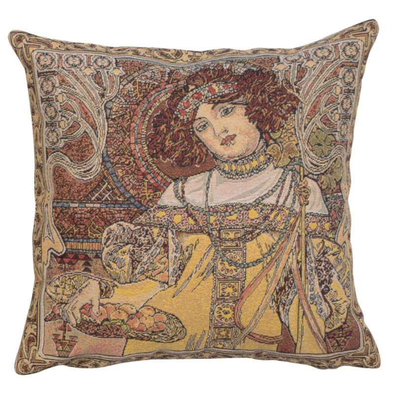 Mucha Autumn I European Cushion Cover