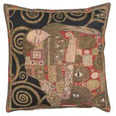 The Accomplissement Black European Cushion Covers