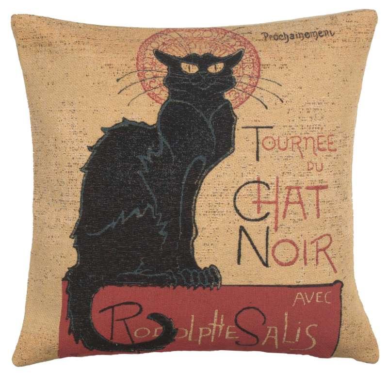 Tournee Du Chat Noir European Cushion Cover