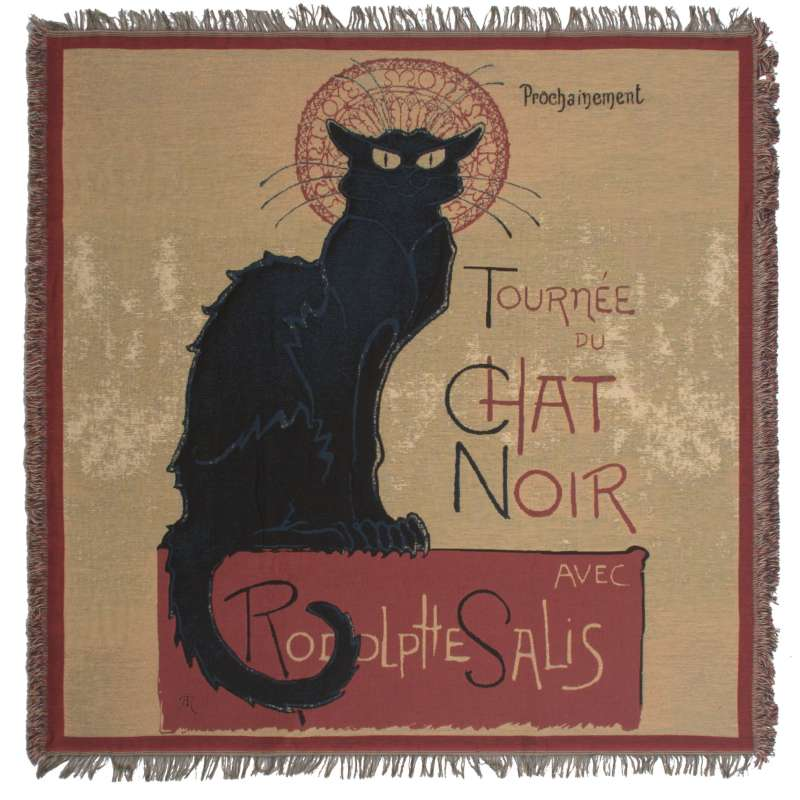 Chat Noir European Throws