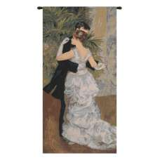 Dance In The City by Renoir European Tapestry