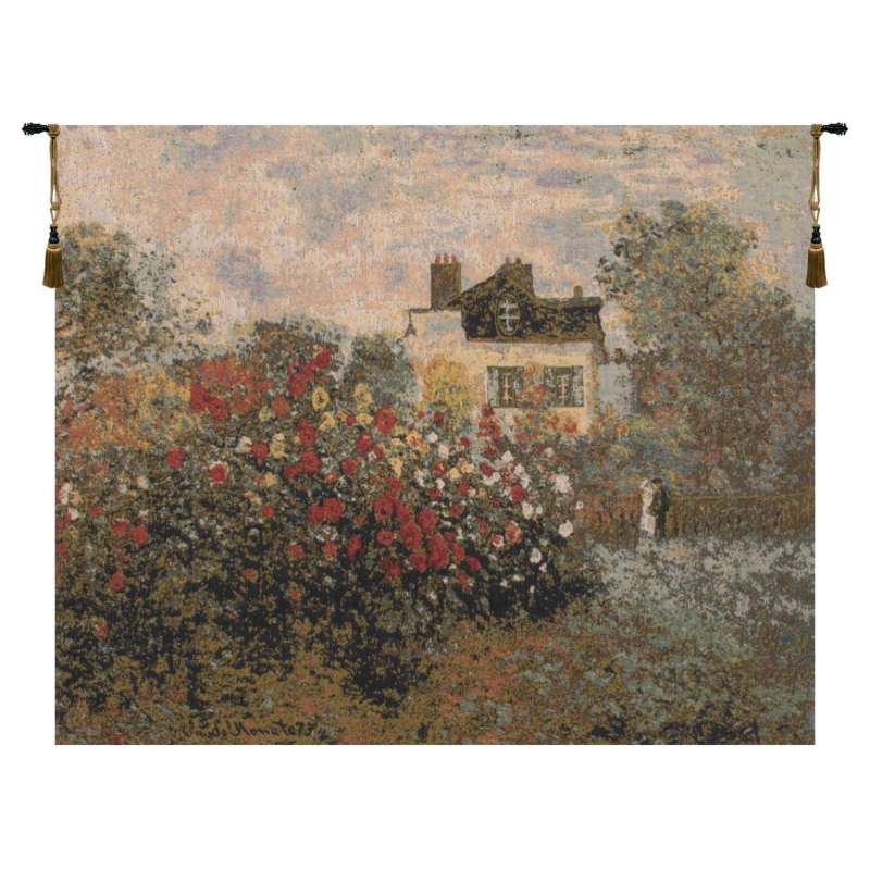 The House Of Claude Monet European Tapestry