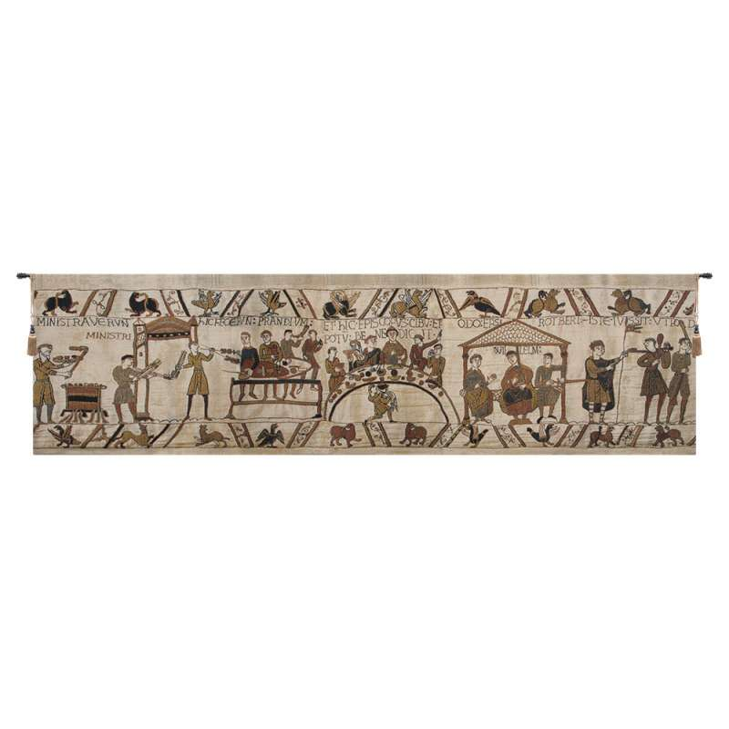 Bayeux Banquet Flanders Tapestry Wall Hanging