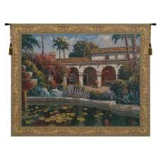 Mission Reflection Belgian Tapestry Wall Hanging
