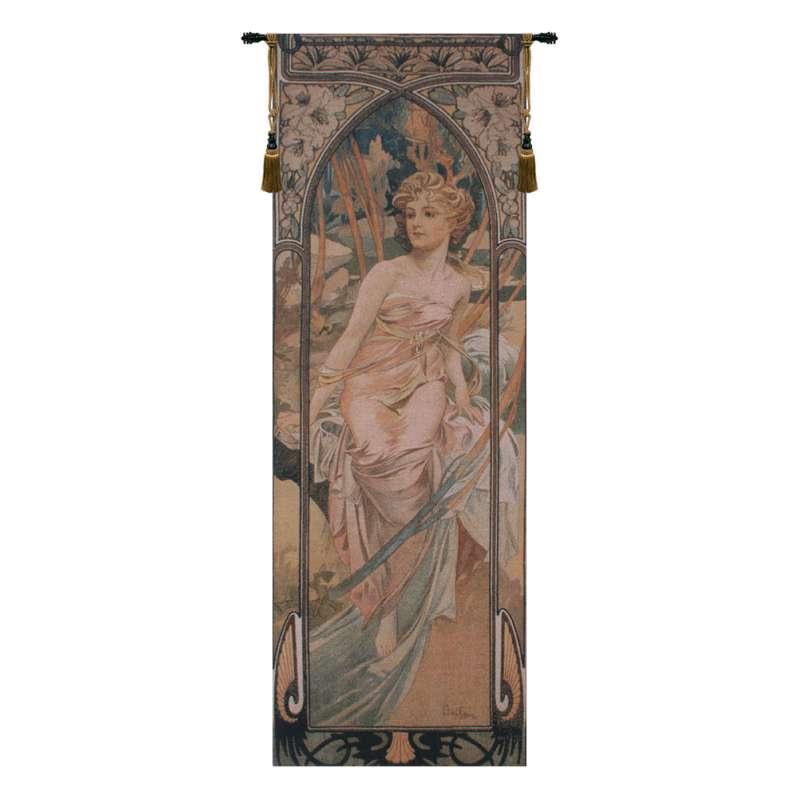 Mucha Matin Belgian Tapestry Wall Hanging