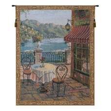 Terrasse Mini Belgian Tapestry Wall Hanging