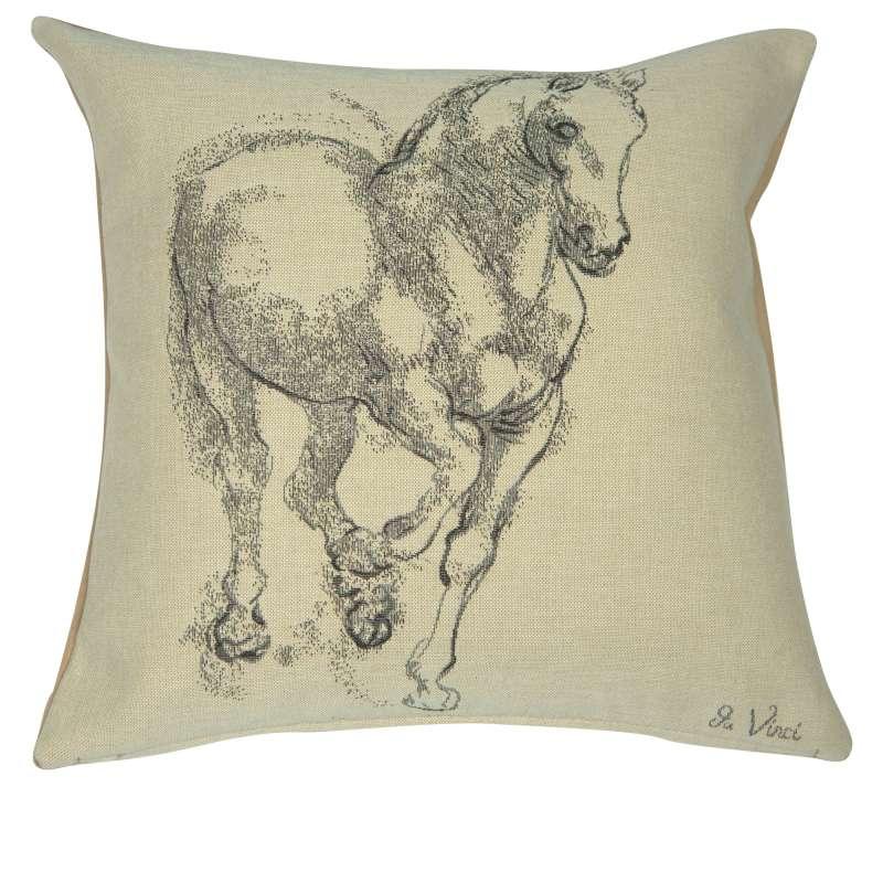 Cheval Da Vinci French Tapestry Cushion
