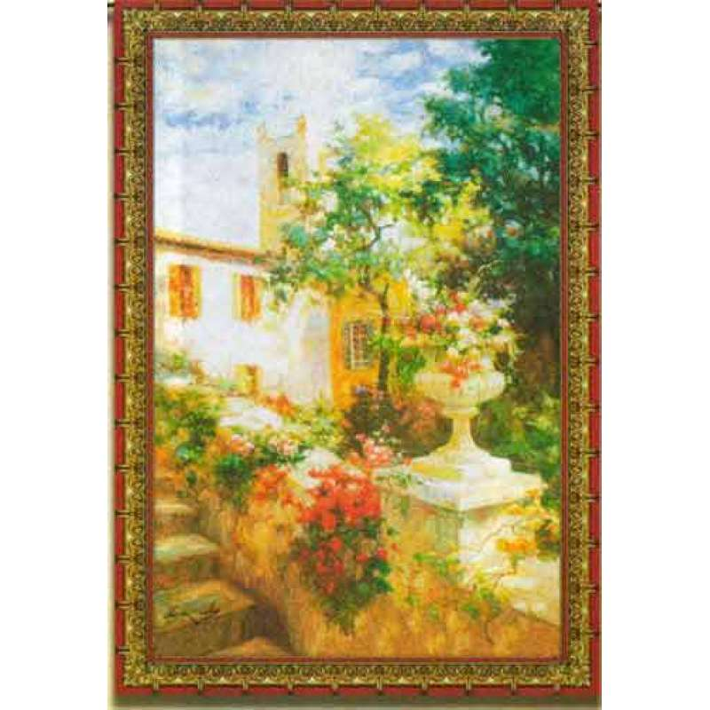 Floral Urn Fine Art Tapestry