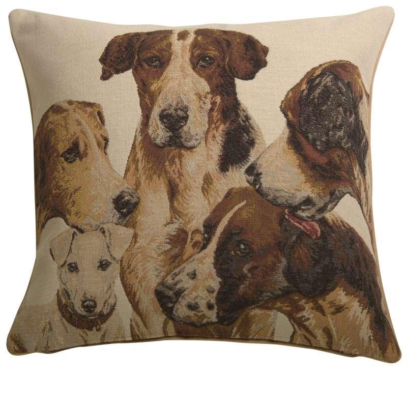 La Meute French Tapestry Cushion