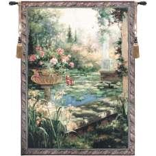 Lily Garden Fine Art Tapestry