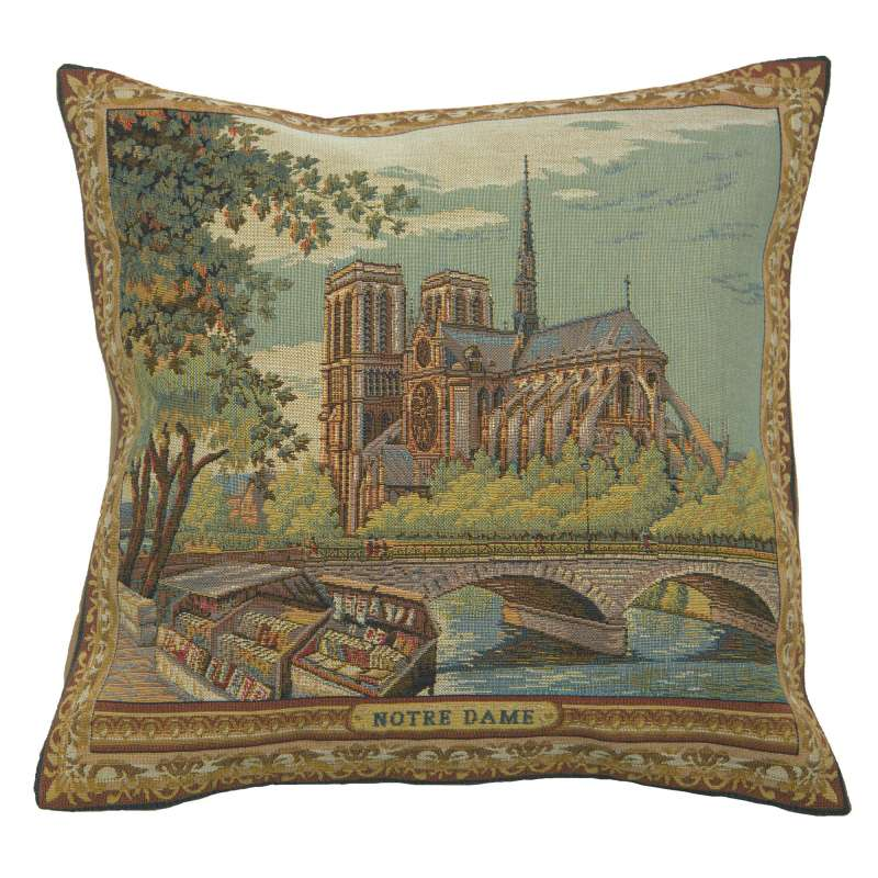 Notre Dame French Tapestry Cushion