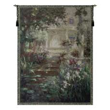 Ivy Column Fine Art Tapestry