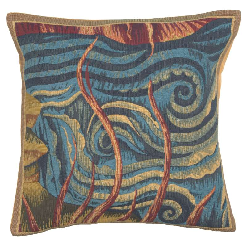 L'Eau French Tapestry Cushion