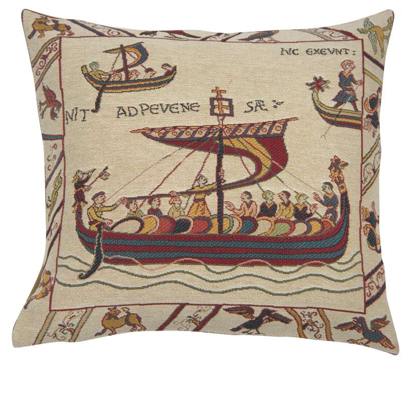 Les Normands French Tapestry Cushion