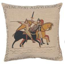 The Chevaliers French Tapestry Cushion