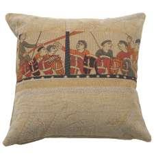 Damas Drakkar Decorative Tapestry Pillow