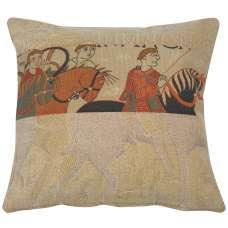 Damas Cavaliers Decorative Tapestry Pillow