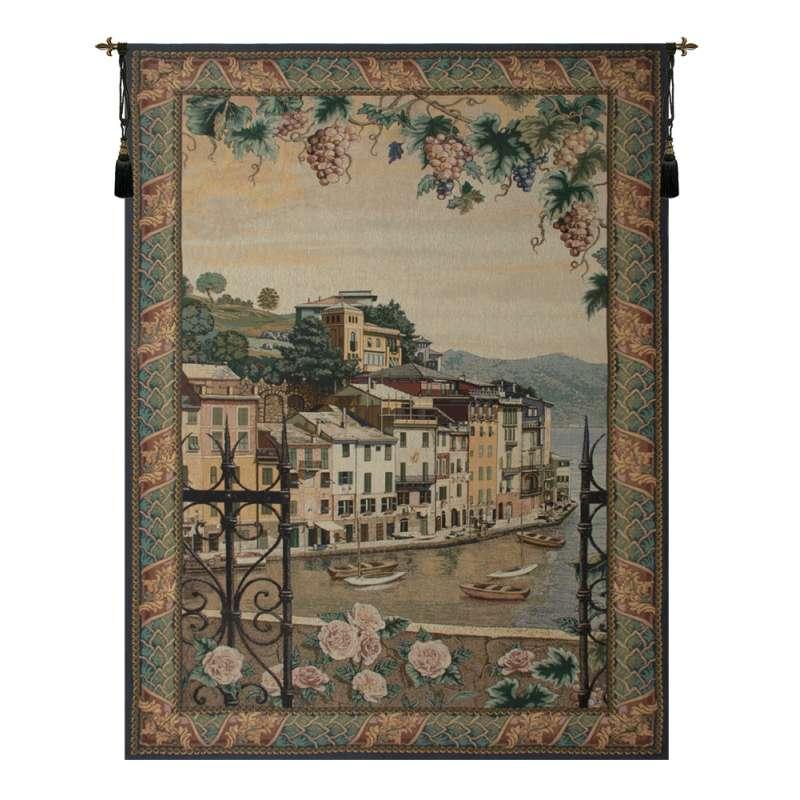 Portofino Tapestry of Fine Art